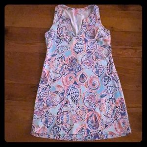 Lilly Pulitzer Shell Me About It Estrada Dress MED
